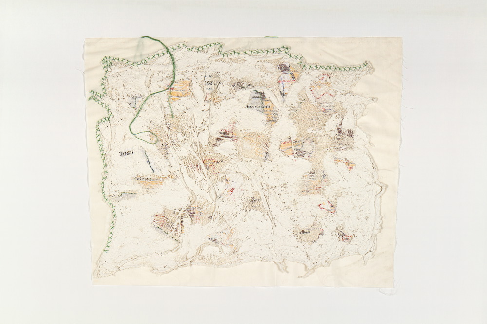 Wounded Land Map